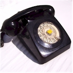 Telephone 746 Black
