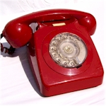 Telephone 746 Red
