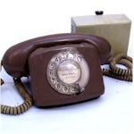 "Telephone 776 ""Compact"" Brown"